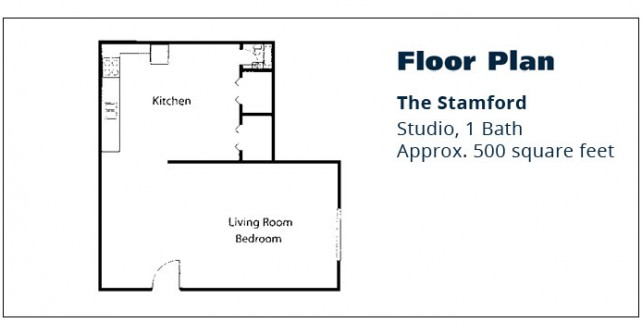 Studio Apartment – The Stamford