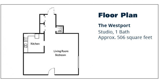 Studio Apartment – The Westport