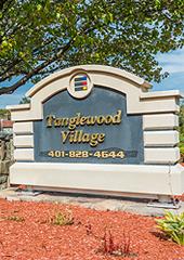 Tanglewood Village Sign