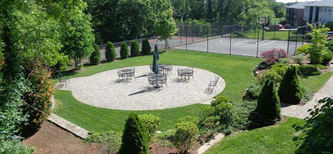 Tanglewood Village Backyard