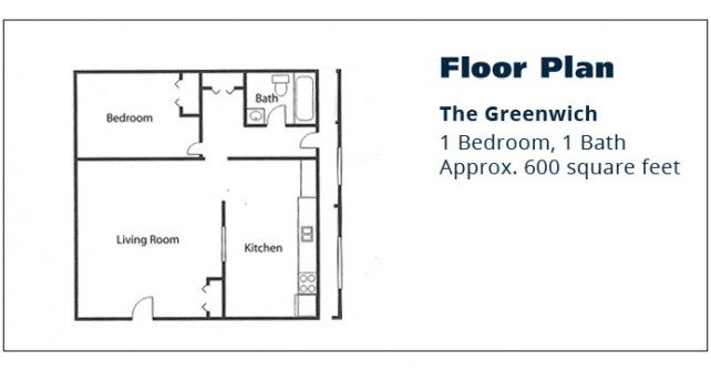 1 BR Apartment – The Greenwich