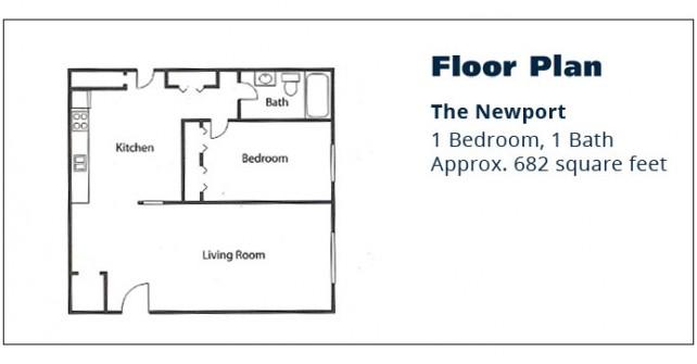 1 BR Apartment – The Newport